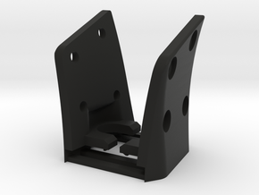 G35 (R&L Inside Bracket Joined) in Black Natural Versatile Plastic