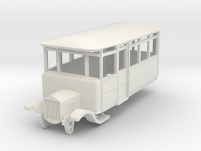 o-87-dv-5-3-ford-railcar in White Natural Versatile Plastic