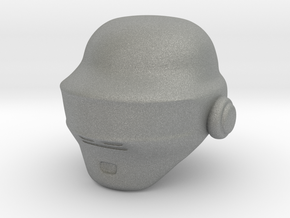 Punk Helmet (prototype) in Gray PA12