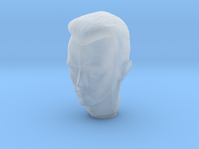 1/12 Terminator T1000 Head Sculpt for Figures in Smooth Fine Detail Plastic