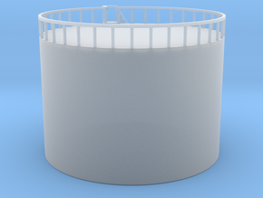 Oil Storage Tank - 30 foot - Zscale in Smooth Fine Detail Plastic