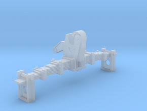 1/16 UK Leafspring Tow Hook in Smooth Fine Detail Plastic