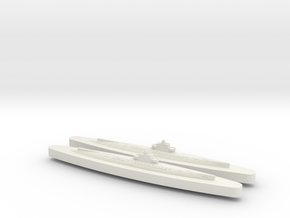 Sjolejonet x2 1/1800 in White Natural Versatile Plastic