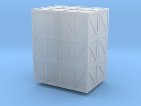 4 stacks 3 small heavy crates in Smoothest Fine Detail Plastic