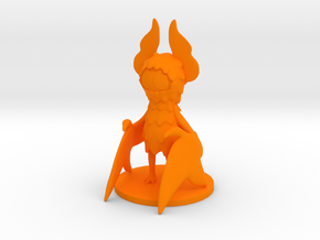 Pumpkin Bat in Orange Processed Versatile Plastic