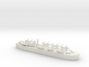 HMS MESSINA LST 3043 1/800 1 Landing Ship tank MK  in White Natural Versatile Plastic