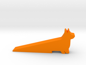 Door stop in Orange Processed Versatile Plastic