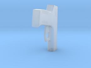 1:3 Miniature Taurus Handgun in Smooth Fine Detail Plastic