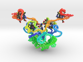Magnetosome Protein MamP (Large) in Glossy Full Color Sandstone