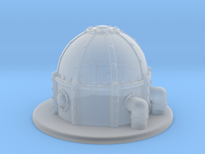 "Industrial dome Epic WH40k 1.5"" tall in Smooth Fine Detail Plastic"
