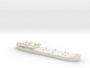 landing ship tank Mk 2 1/1800 5  in White Natural Versatile Plastic