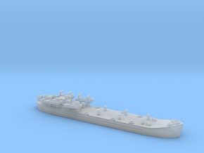 landing ship tank Mk 2 1/1800 5  in Smooth Fine Detail Plastic