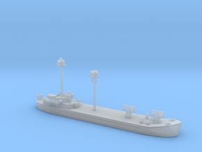 landing ship tank Mk 2 1/1800 fdt  in Smooth Fine Detail Plastic