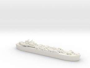 landing ship tank Mk 3 1/1800  2 in White Natural Versatile Plastic