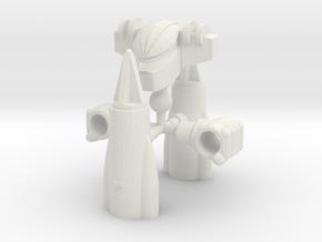 Steel Jeeg Kit for Centaurus in White Natural Versatile Plastic