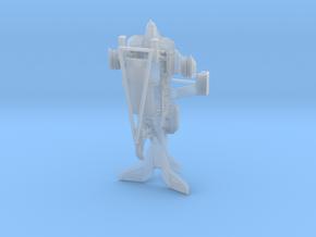 scifi UD4Ldropship rev2 in Smoothest Fine Detail Plastic: 1:400