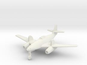 (1:144) Messerschmitt Me 262 w/ RZ64 rockets in White Natural Versatile Plastic