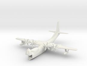 "Convair R3Y-2 ""Tradewind"" 1/285 (Resting on water) in White Natural Versatile Plastic"