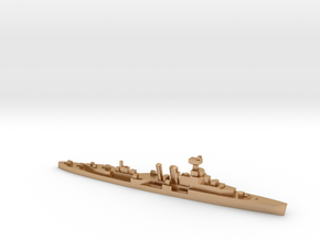 HMS Coventry 1:1800 WW2 naval cruiser in Natural Bronze