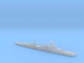 HMS Coventry (masts) 1:1800 WW2 naval cruiser in Smoothest Fine Detail Plastic