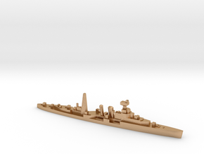 HMS Coventry (masts) 1:2400 WW2 naval cruiser in Natural Bronze