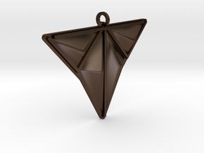 DOCV5v2mesh in Polished Bronze Steel