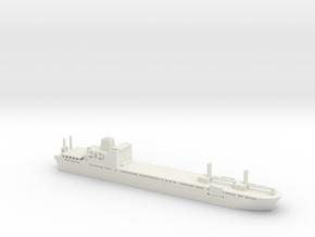 1/2400 Scale Bob Hope T-AKR 300 in White Natural Versatile Plastic