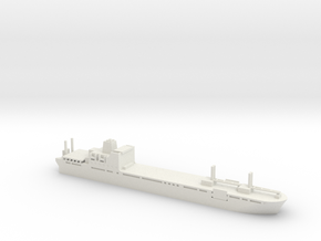 1/1800 Scale Bob Hope T-AKR-300 in White Natural Versatile Plastic