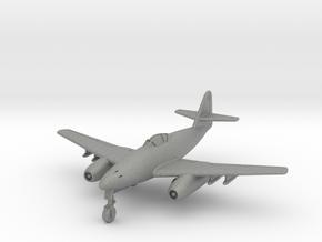 (1:144) Messerschmitt Me262 A-1a w/ R100 BS  in Gray PA12