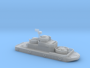 1/200 Program 5 River Boat with M49 105mm Howitzer in Smooth Fine Detail Plastic
