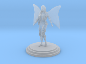 Fairy Girl in Smooth Fine Detail Plastic