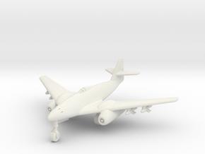 (1:200) Messerschmitt Me262 High speed DVL design in White Natural Versatile Plastic