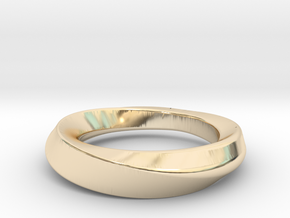 mobius 21.89mm in 14K Yellow Gold