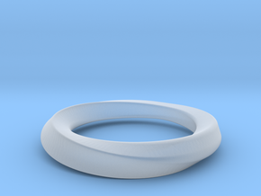 mobius 16.1mm in Smooth Fine Detail Plastic