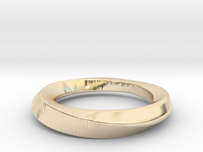 mobius 16.1mm in 14K Yellow Gold