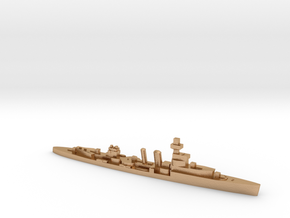 HMS Cardiff 1939 1:1800 WW2 cruiser in Natural Bronze