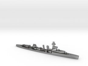 HMS Cardiff 1939 1:1800 WW2 cruiser in Natural Silver