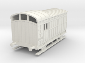 o-100-nlr-kesr-luggage-brake-coach in White Natural Versatile Plastic