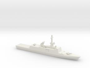 La Fayette-class frigate, 1/1250 in White Natural Versatile Plastic