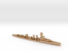 HMS Cardiff 1939 1:3000 WW2 cruiser in Natural Bronze