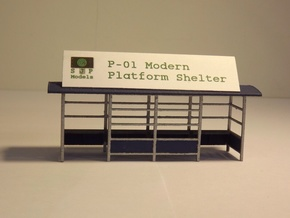 P-01 Platform Shelter in White Natural Versatile Plastic