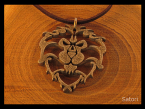 Alliance Medallion in Polished Bronzed Silver Steel