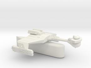 3125 Scale Klingon D5HK Light Tactical Transport  in White Natural Versatile Plastic