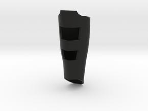 ARC Shin guard in Black Natural Versatile Plastic