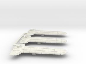 Terran (TFN) Light Cruiser Datagroup (sprued) in White Natural Versatile Plastic