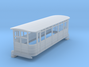 o-148fs-dublin-blessington-drewry-railcar in Smooth Fine Detail Plastic