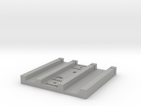 3mmx9mm and 4mm x 12 mm brick jig in Aluminum