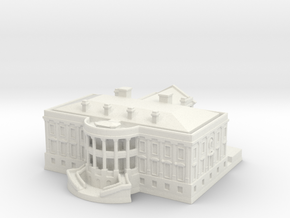 The White House 1/1250 in White Natural Versatile Plastic