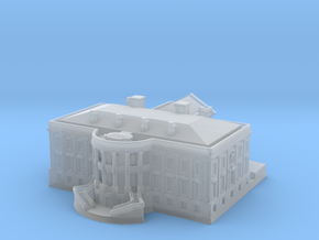The White House 1/1250 in Smooth Fine Detail Plastic