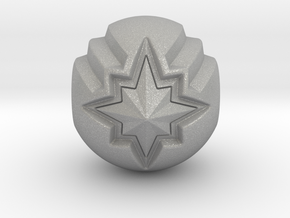 Captain Marvel Pandora Charm in Aluminum